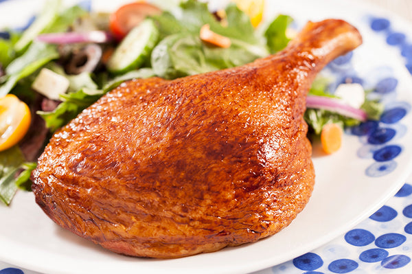 Echelon Foods Roasted Duck Leg-Fully Cooked - 4 lb