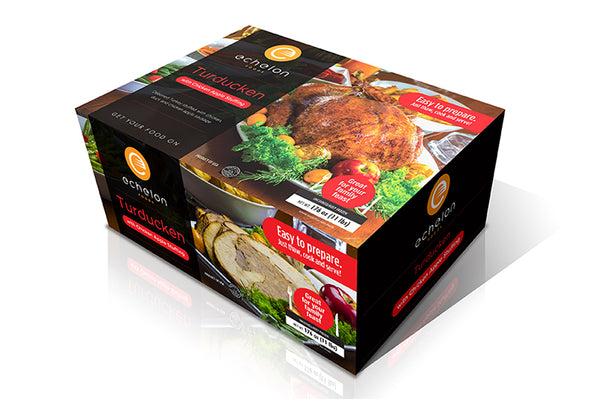 Echelon Foods chicken apple turducken
