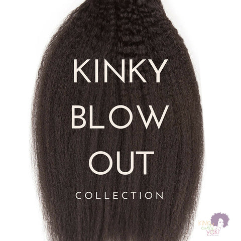Kinky Blow Out - Clip Ins