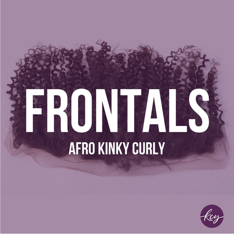 Afro Kinky Curly - Frontals