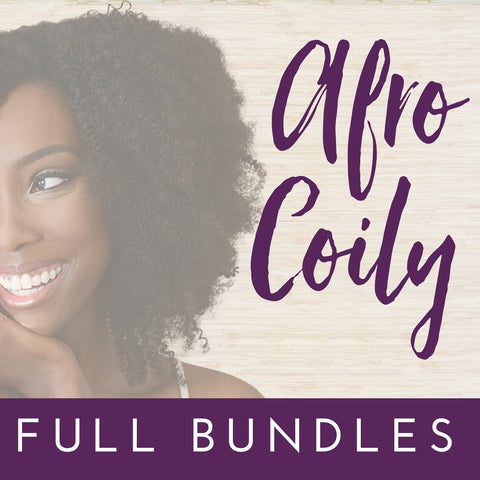 Afro Coily- Full Bundle