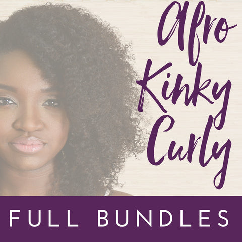 Afro Kinky Curly - Full Bundle