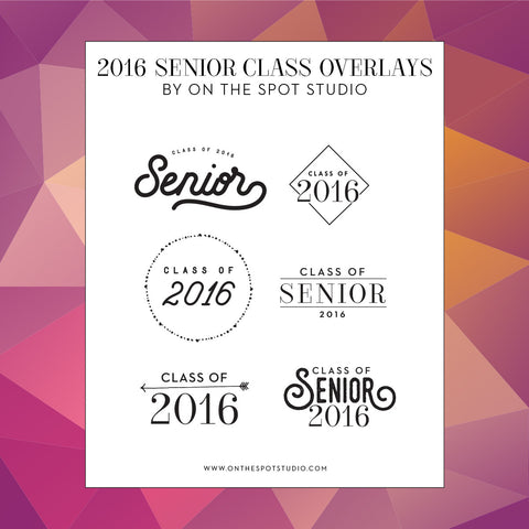 2016 Senior Overlays