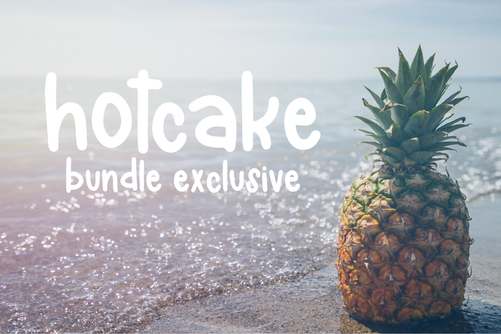 Summer Fab Five Font Bundle