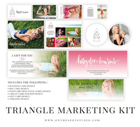 Senior Premade Marketing Pack - INTRO Price $25