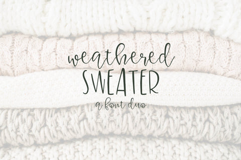Weathered Sweater