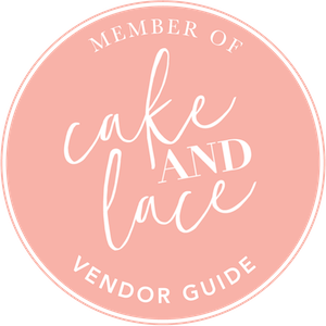 Cake and Lace Badge