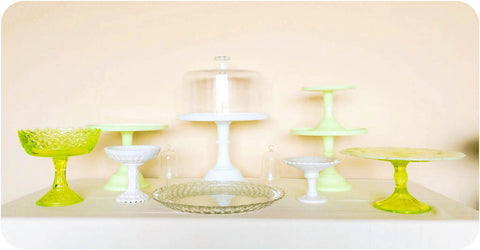 Buttercream Dessert Stand Collection - Julia's Cake Stand Rentals