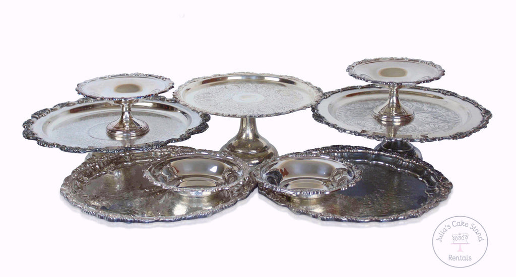 Vintage Silver Dessert Stand Collection