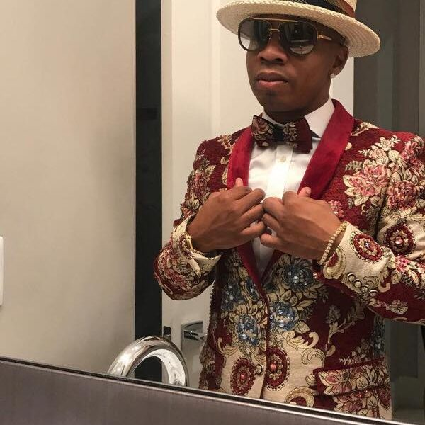 "Rapper Plies, wearing Giovanni Testi in new Music Video for ""My Rock"""