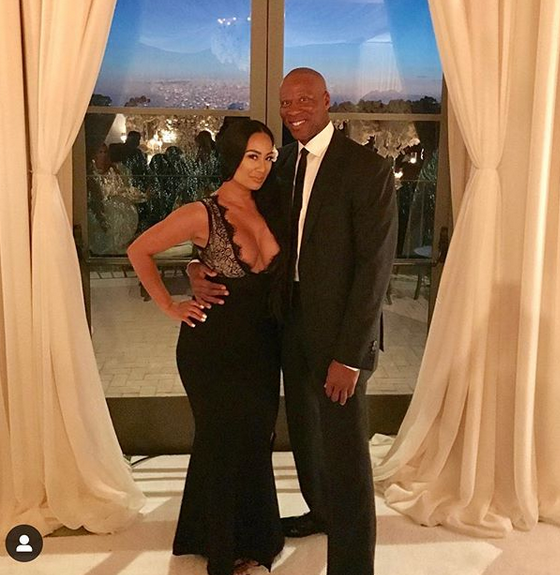 Basketball Legend Byron Scott chooses Giovanni Testi for Wedding Attire