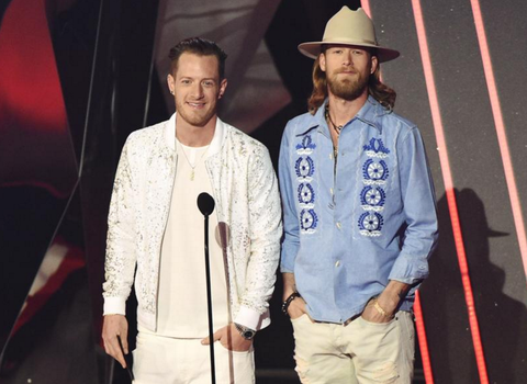 FGL in Giovanni Testi at the iHeart Music Awards