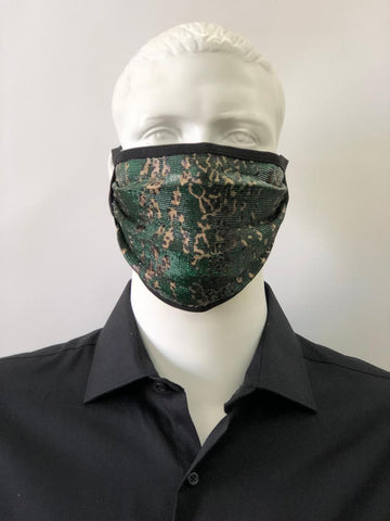 Fancy Face Mask 304-4 Green