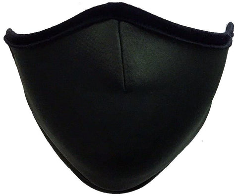 Protective Face Mask (3 pc, Color Black)