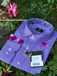 Face Mask & Shirt Set, GT-10092 Purple