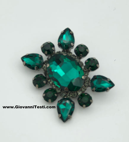 GT-Pin Emerald Green Flower