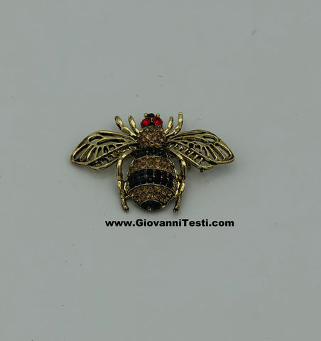GT-Pin Black / Gold Fat Bee