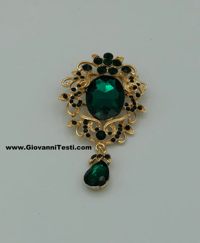 GT-Pin Green Tear Drop