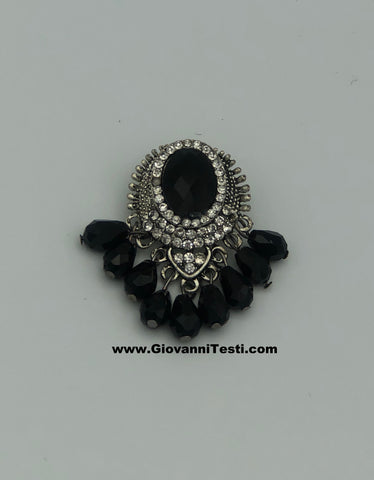 GT-Pin Black Tear Drop