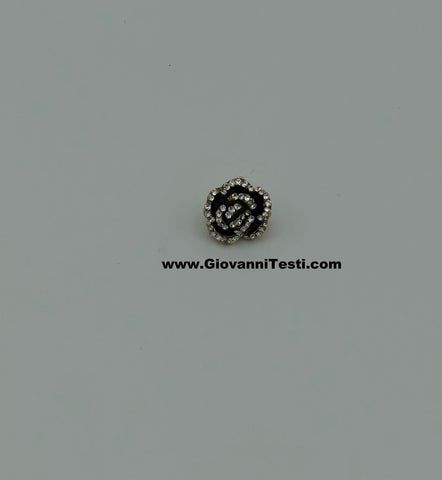 GT-Pin Black Diamond Flower
