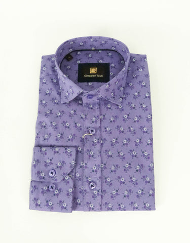 Face Mask & Shirt Set, GT-10044 Lavender