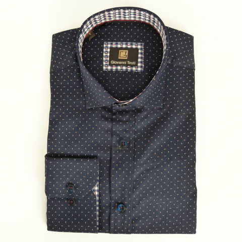 Face Mask & Shirt Set, GT-10110 Navy