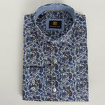 Face Mask & Shirt Set, GT-10085 Navy