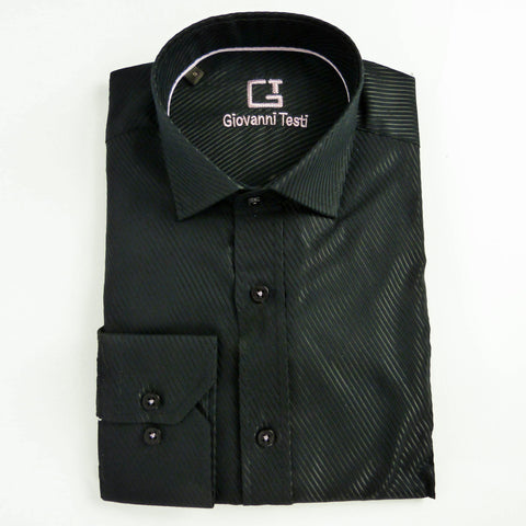 Face Mask & Shirt Set, GT-10009 Black
