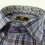 Face Mask & Shirt Set, GT-10116 Purple