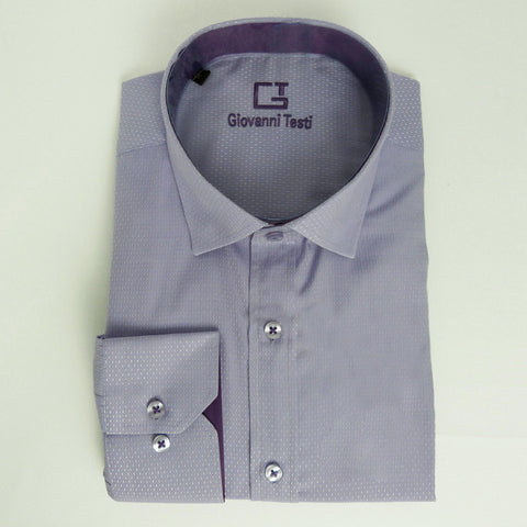 Face Mask & Shirt Set, GT-10128 Lilac