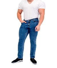 Men's Athletic Fit Jeans - Relaxed Leg - Carson