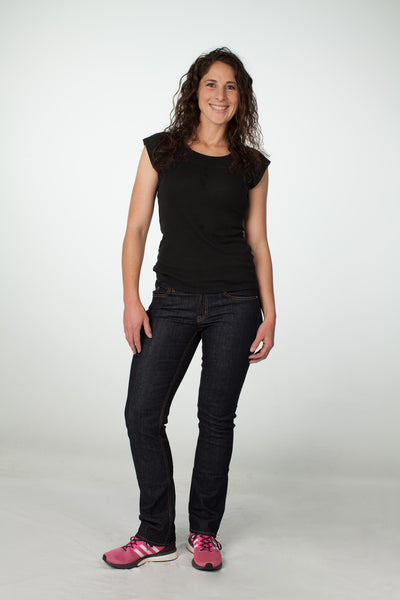 Keirin Cut Jeans® || Women's Athletic Fit Jeans - Straight Leg - Izu