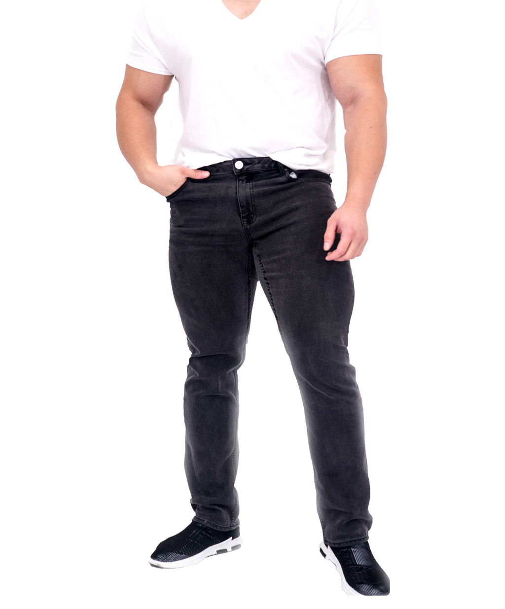 Men's Athletic Fit Jeans- Relaxed Leg - Fiorenzuola