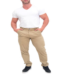 Men's Athletic Fit Chino - Khaki