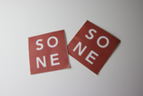 2015 'SONE' Red/Black Stickers