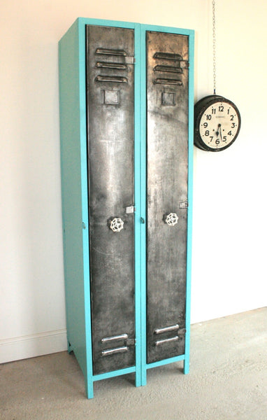 Vintage Industrial 2 Door Locker - TheRetroStation  - 2