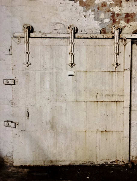 1940's tin plate Factory doors with amazing original hardware loft doors warehouse doors roller doors vintage industrial doors    🔎zoom