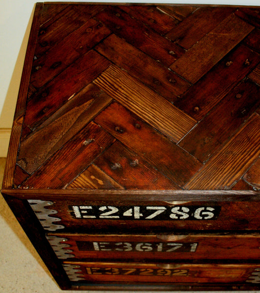 Vintage Industrial 8 Drawer Cabinet - Amo Range - TheRetroStation  - 2
