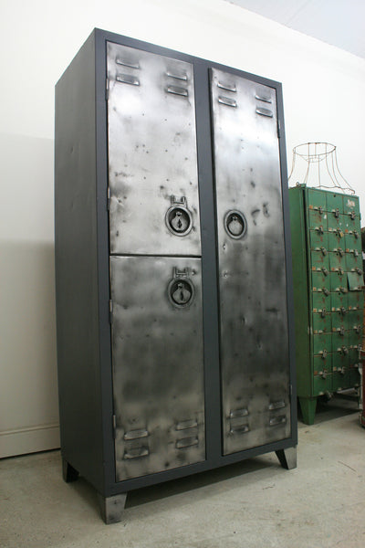 Vintage Industrial 2 Door Locker - TheRetroStation  - 10