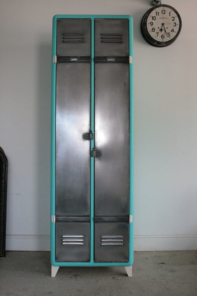 Vintage Industrial 2 Door Locker - TheRetroStation  - 1