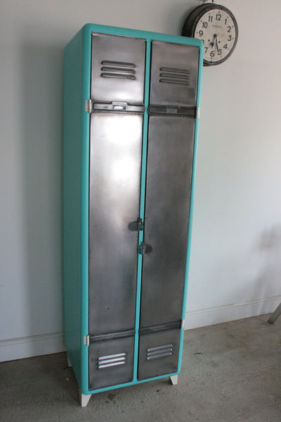 Vintage Industrial 2 Door Locker - TheRetroStation  - 6