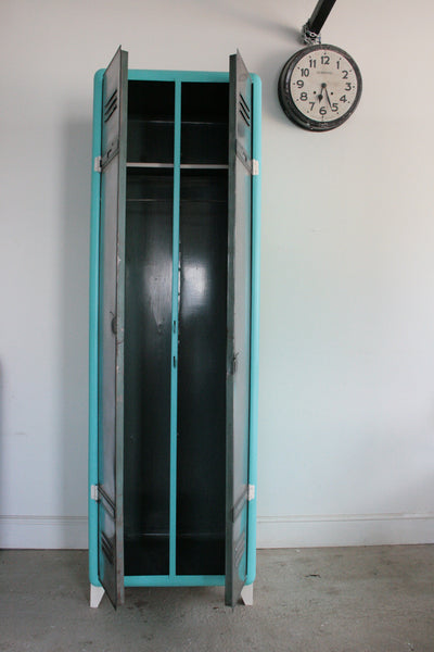 Vintage Industrial 2 Door Locker - TheRetroStation  - 7