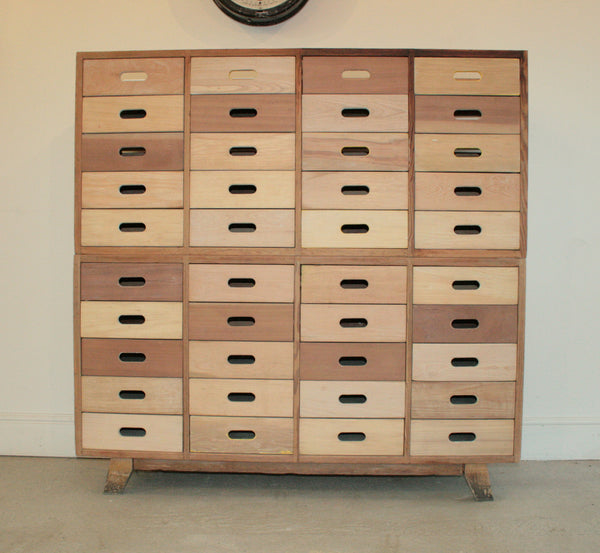Beautifully Hand Crafted 40 drawer Sideboard / Cabinet - TheRetroStation  - 6