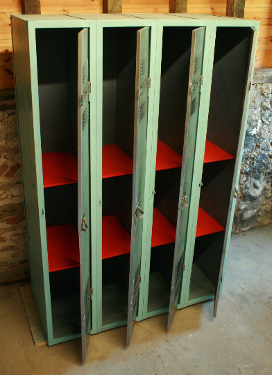 Vintage Industrial French Locker