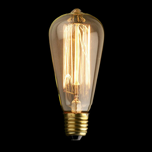 E27 4w LED Teardrop Dimmable Filament Bulb - TheRetroStation