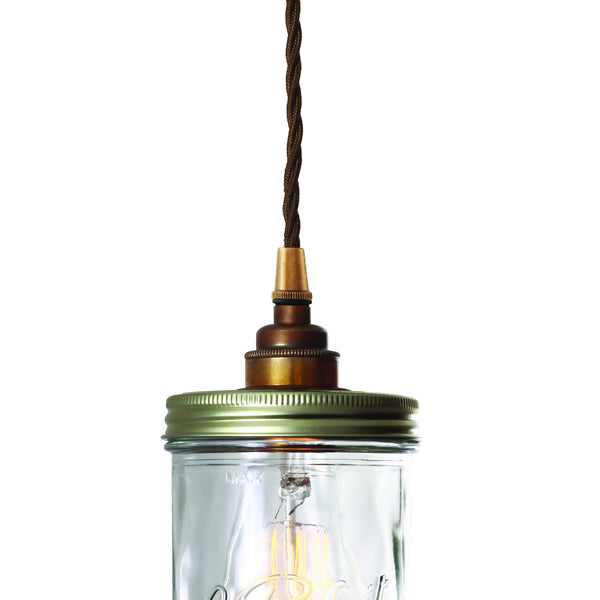 Jam Jar Pendant Light - TheRetroStation  - 4
