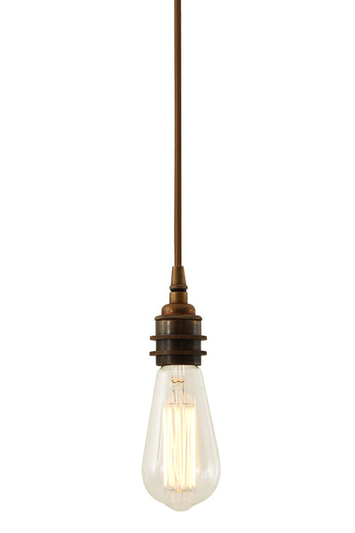 Dili Single Braided Edison Pendant - TheRetroStation  - 3