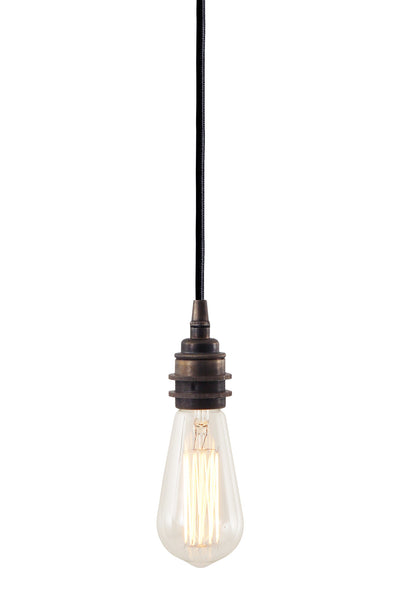 Dili Single Braided Edison Pendant - TheRetroStation  - 4