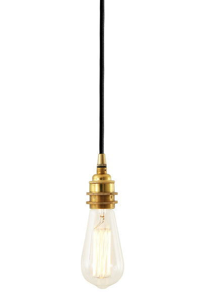 Dili Single Braided Edison Pendant - TheRetroStation  - 5
