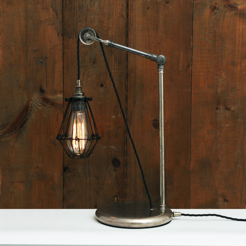 Apoch Pulley Cage Desk lamp - TheRetroStation  - 1